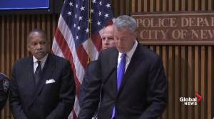 Bill de Blasio: We have every reason to believe NYC explosions were act of terror