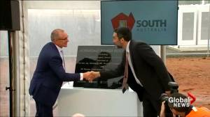 Tesla switches on world's biggest lithium battery to help power Australia