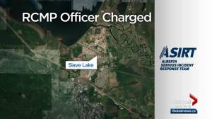Slave Lake RCMP officer charged with assault
