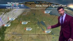Frigid temperatures, wind chills, freezing rain for Canada on