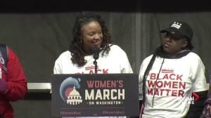 'White women do not own feminism': Women's march protester