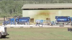 Crews cleaning up after Kinder Morgan oil spill in BC