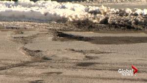 Fluctuating temperatures creates pothole problem in Saint John