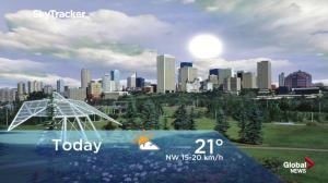 Edmonton early morning weather forecast: Wednesday, July 4, 2018