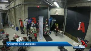 The Great Global News Morning Calgary Christmas Tree Challenge