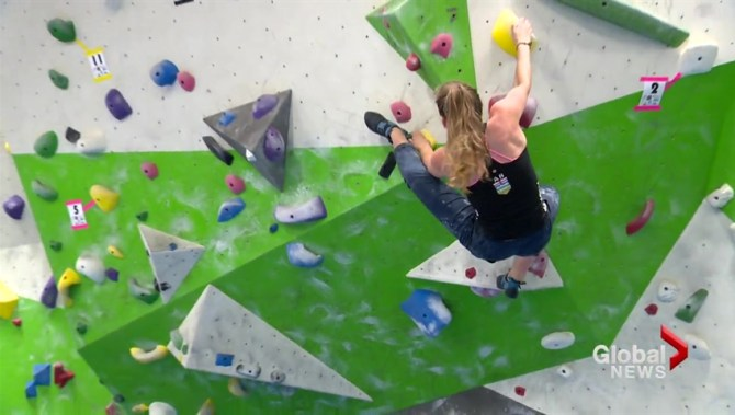 Lethbridge rock climber taking talent to new heights