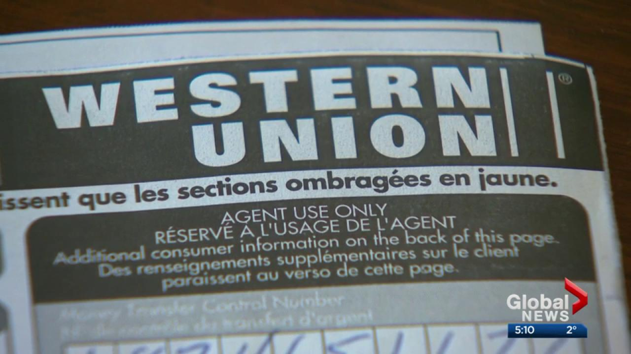 victims of scams involving western union wire transfers eligible for rh globalnews ca wiring money via western union wiring money thru western union