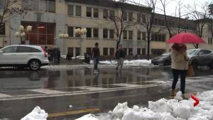 New crosswalk for Dawson College