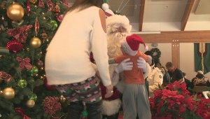 Santa Claus sets out to make sure low-income families in Edmonton aren't left out of Christmas joy