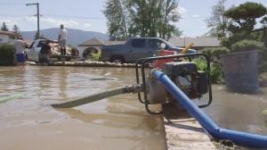Frustration in Merritt over lack of flood warning