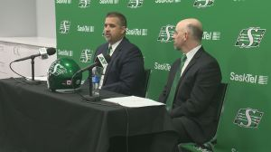 Saskatchewan Roughriders hire Craig Dickenson as new head coach