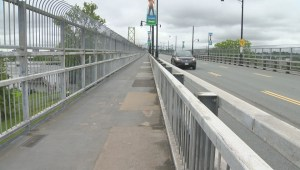 Pedestrian and bike lanes on Macdonald Bridge to close for 18 months