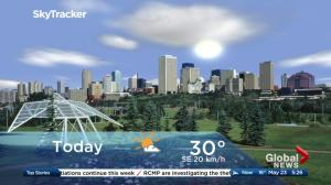 Edmonton early morning weather forecast: Wednesday, May 23, 2018