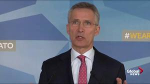 NATO stands with members in response to Russia's 'reckless behaviour'