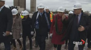 Tory breaks ground at CSLF project