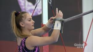 Calgary gymnast shines on national stage