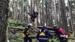 B.C. paraglider rescued from tree after crashing into forest