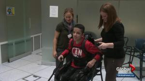 Edmonton hospital gives teens with mobility issues a big boost