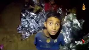 New video shows doctors treating boys stuck inside cave in Thailand