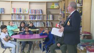 Winnipeg students honour soldiers with No Stone Left Alone ceremony