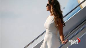 Trump's former communications director Hope Hicks spotted on Air Force One