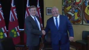 Ford, Tory meet to discuss issues including gun violence and migrants