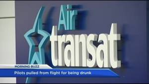 Air Transat pilots charged with being impaired