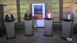 Alberta leaders debate social issues and gay-straight alliances (04:45)