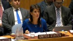 Nikki Haley says missiles hit the 'heart of Syrian regime's illegal chemical weapons program'