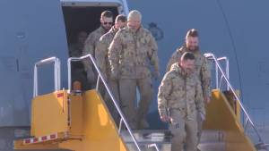 437 Squadron returns from Iraq and Syria operation
