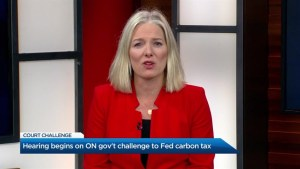 McKenna defends federal carbon tax as Ontario gov't heads to court