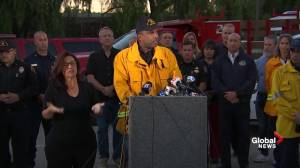 Not evacuating puts 'lives at risk' during wildfires: officials