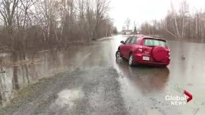 Water levels remain high along St. John River, flooding possible