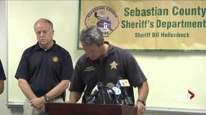 Sebastian County Sheriff Bill Hollenbeck talks about Deputy killed in shooting