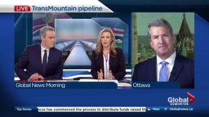 David Akin on Kinder Morgan's deadline for Trans Mountain progress