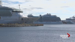 Trip cruise ship day in Saint John on busiest week of the year
