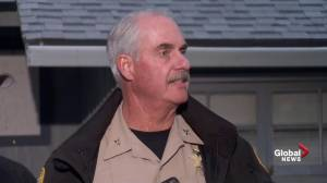 'He's a bad guy': California sheriff says he won't reveal shooter name