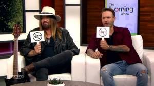 Billy Ray Cyrus and Dallas Smith play CCMA or CCM-Nay