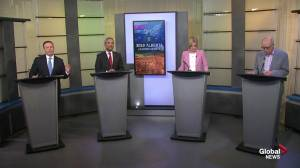 Alberta political leaders debate climate change, carbon tax and the environment (05:23)