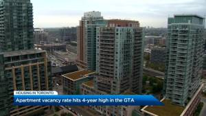 Apartment vacancy hits 4-year-high in GTA