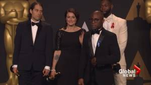 Barry Jenkins says Warren Beatty searched him out to show him Best Picture card