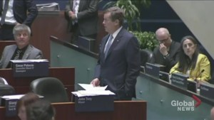 Greater Toronto Day:  Mayor John Tory gives special shout out in city council to new residents