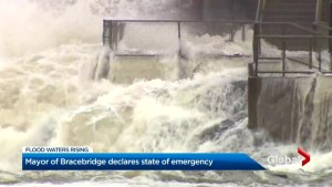 Bracebridge under state of emergency, evacuations recommended due to flooding