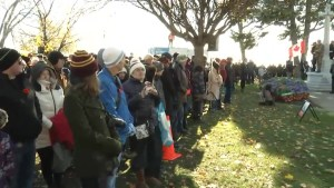 Kingston residents gather to pay their respects at Remembrance Day service