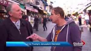 Atmosphere subdued in west Jerusalem market