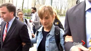 Alleged 'sex cult' actress Allison Mack released from jail on $5 m bond