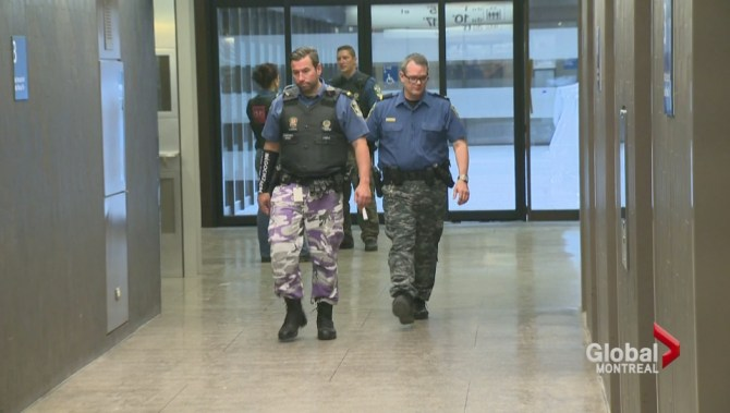 Camo pants protest: Montreal cops may soon be back in full ...