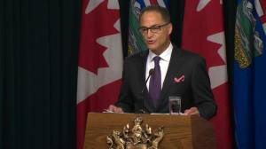 'The oil price collapse continues to reverberate through our economy': Alberta finance minister Joe Ceci (02:35)