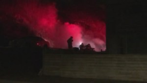 Penticton car fire