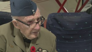 99-year-old Calgary veteran shares WWII memories as a fighter pilot